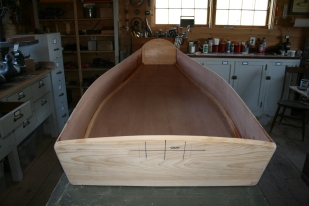 11. Edges are rounded and sanded after full epoxy cure.