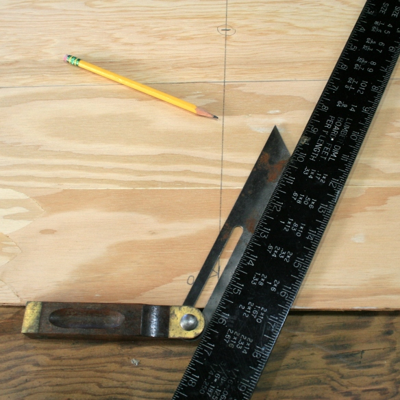 14. Transfer angle to sides.