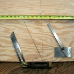 15. Other methods - measure from bow or use protractor.