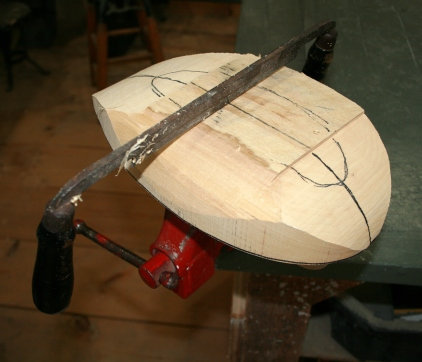 16. A nice sharp draw knife does almost all of the shaping.