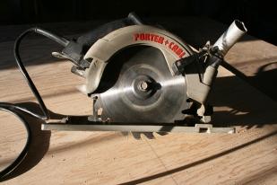 17. Cut with circular saw or jigsaw.