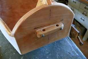 2. Bow cleat bolted on.