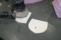 22. Sand inserts so epoxy will stick.