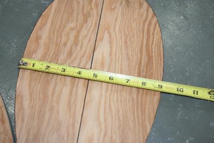 8. Measure bottom boards...