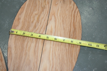 8. Measure bottom boards...