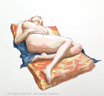 55. Watercolors