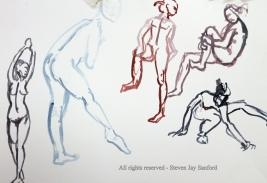 61. Watercolor sketches