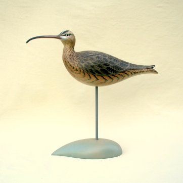 Decoys & Carvings - Whimbrel