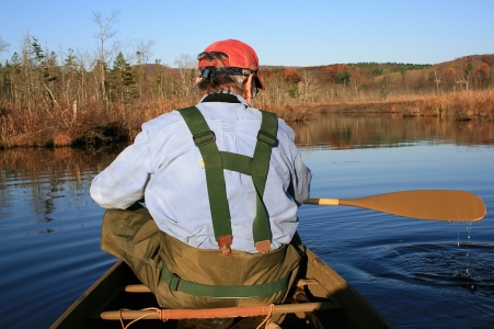 Ed Green in Swamp - 22 October 2012 - small