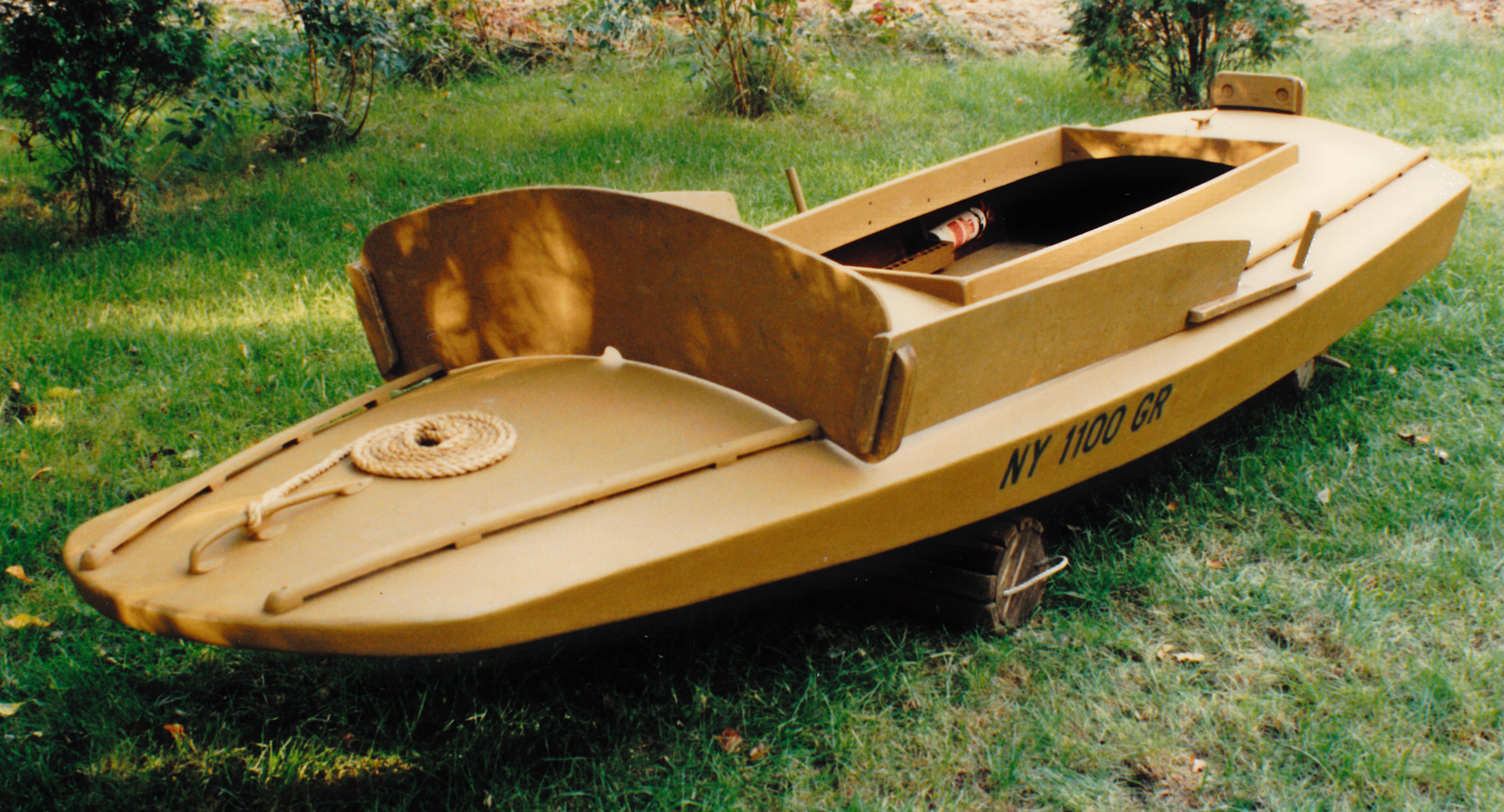 One-man Grassboat | Steven Jay Sanford