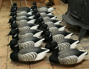 Decoys & Carvings - Brant Rig