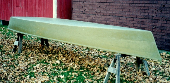 Pirogue - First Paint