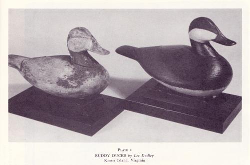 Ruddies - Wild Fowl Decoys Plate 2