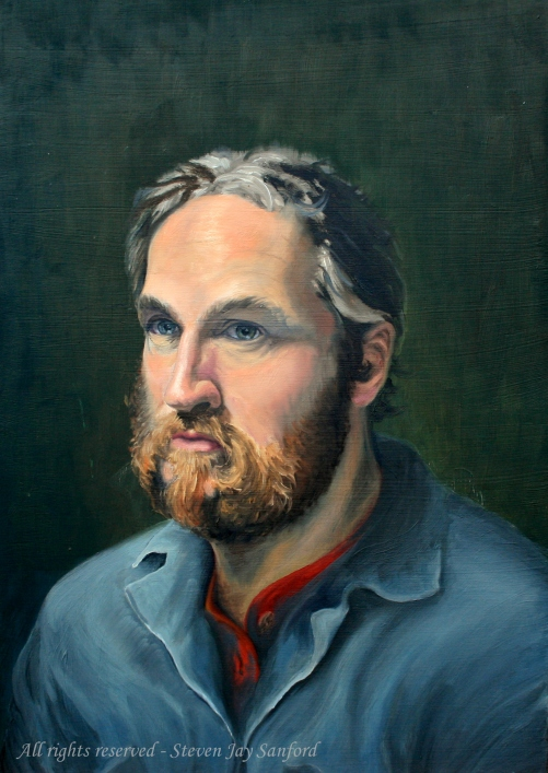 Self-portrait circa 1992 - rr