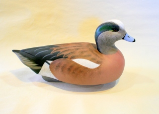 Decoys & Carvings - Wigeon Gunner