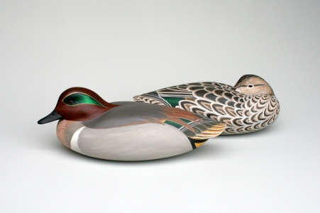 WS - Greenwing Teal Pair 1990