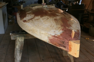 17 - All cavities and hollows receive epoxy and fairing fillers.