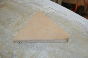 3 - Male jig will be used for bending bronze rod for new hardware.