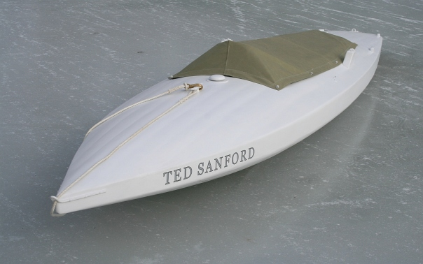 12 - The Ted Sanford is now ready for the real thing.