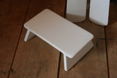 7 - The rowing stool doubles as the headrest - perfect height and perfect angle.