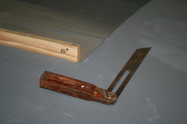 The side coamings are made from 1/2-inch treated Yellow Pine.