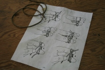 "14 - I keep the drawing from ""The Marlinspike Sailor"" right in my ditty bag. I use decoy line for the knot."