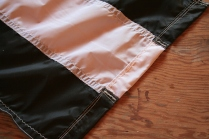 7 - The weights are sewn into closed pockets.