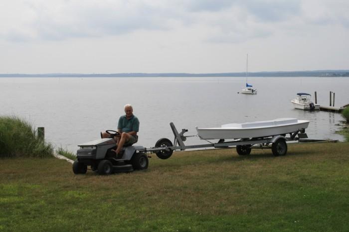 1 Boatyard Tractor