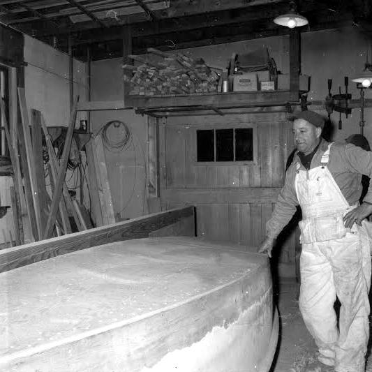 Brud Skidmore - inboard circa 1960