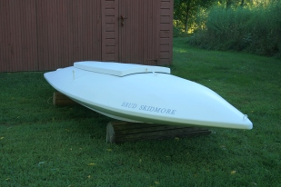 8 - The Brud Skidmore is ready to return to saltwater.