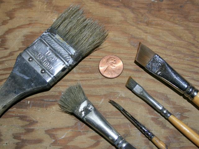 8 Brushes