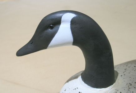 30 Goose - final head paint