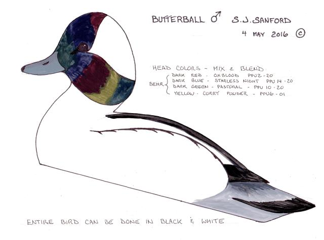 3 Butterball Drake schematic