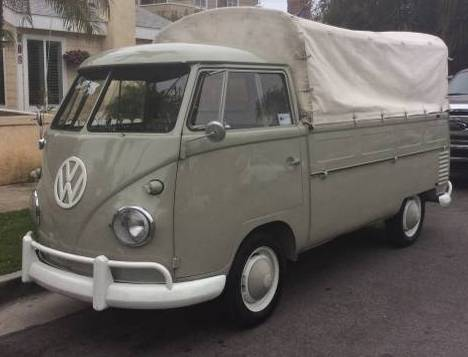 VW Transporter 1961 CROPPED