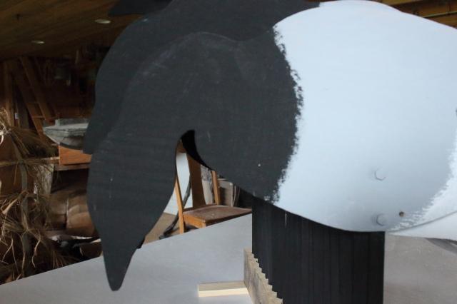 Brant 11A - Black fwd closeup