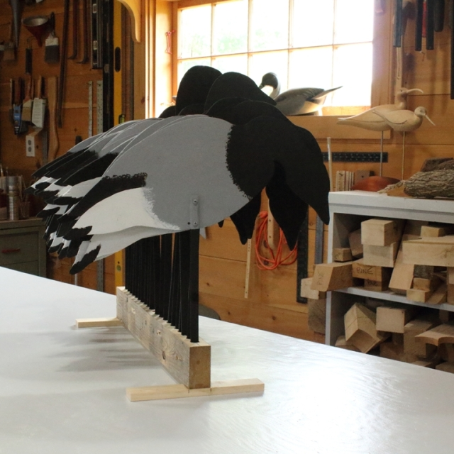 Brant 16A - Black all done on stand